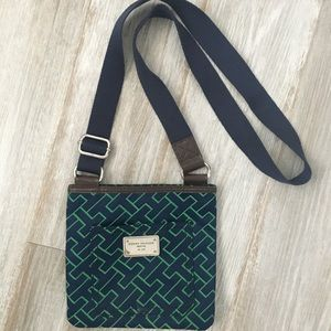 Tommy Hilfiger Bags - Tommy Hilfiger green and blue crossbody